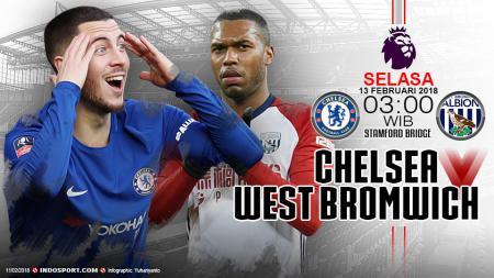 Prediksi Chelsea vs West Bromwich Albion - INDOSPORT