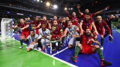 Indosport - Portugal juara futsal Eropa