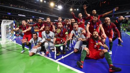 Portugal juara futsal Eropa - INDOSPORT