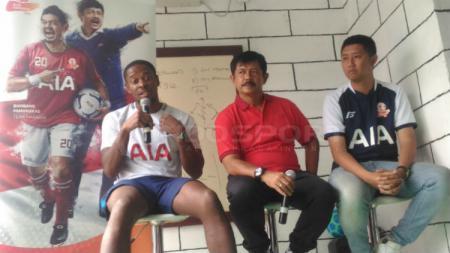 Indra Sjafri dalam konferensi pers AIA Championship 2018 - INDOSPORT