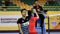 Indosport - Kekalahan Ginting