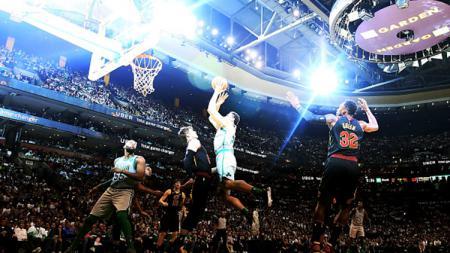 Situasi pertandingan Cleveland Cavaliers vs Boston Celtics. - INDOSPORT