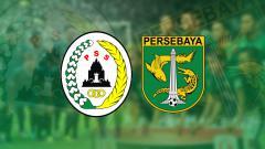 Indosport - PSS Sleman vs Persebaya Surabaya.