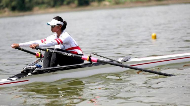 Atlet Dayung Indonesia, Dewi Yuliawati. Copyright: Internet