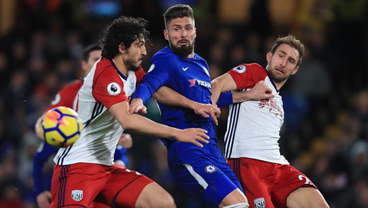 Chelsea vs West Bromwich Albion Copyright: INDOSPORT