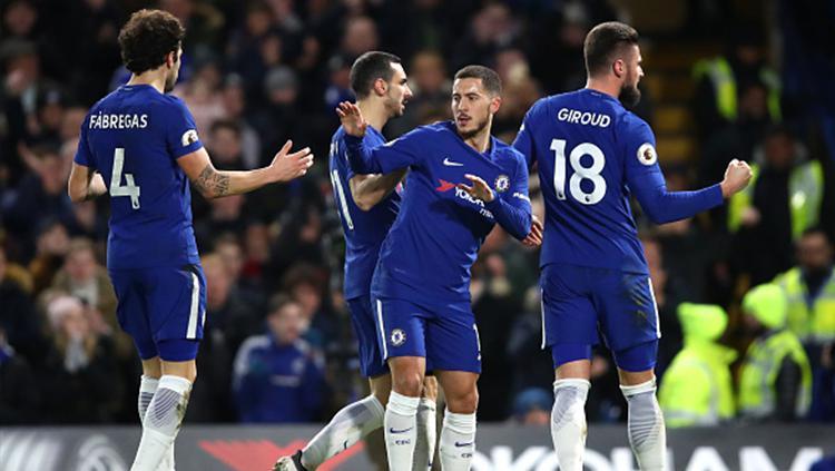 Chelsea vs West Bromwich Albion Copyright: INDOSPORT