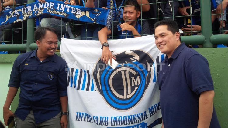 Presiden Inter Milan, Erick Thohir. Copyright: Arif Rahman/Indosport.com