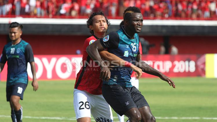 Bali United vs Yangon United Copyright: Rudi Khaizan/Indosport.com