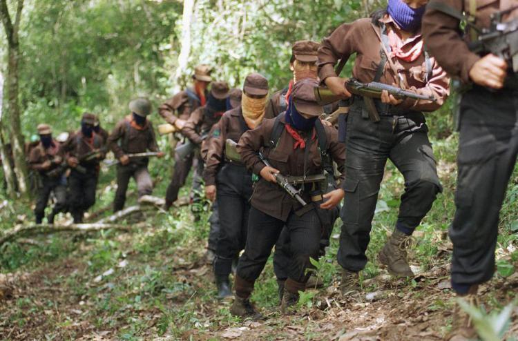 Zanetti sempat tergabung bersama kelompok pemberontakan Zapatista. Copyright: PA Images