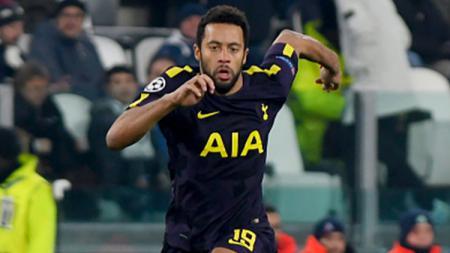 Moussa Dembele saat melawan Juventus pada laga Liga Champions. - INDOSPORT