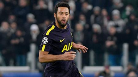Mousa Dembele saat melawan Juventus pada laga Liga Champions. - INDOSPORT