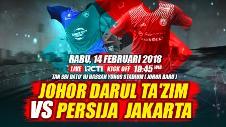 Johor Darul Ta'zim vs Persija Jakarta. - INDOSPORT