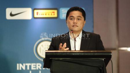 Erick Thohir dalam salah satu acara Inter Milan. - INDOSPORT