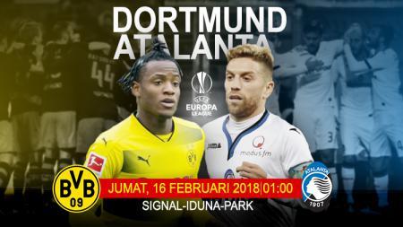 Borussia Dortmund vs Atalanta. - INDOSPORT