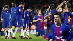 Indosport - Barcelona vs Chelsea.
