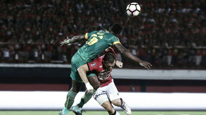 Bali United vs Sriwijaya FC Copyright: Instagram@baliunitedfc