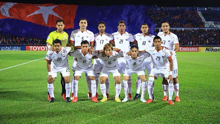 Skuat Persija Jakarta jelang menghadapi Johor Darul Ta