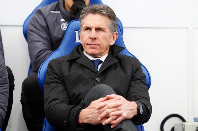 Claude Puel (Pelatih Leicester City) Copyright: Getty Images