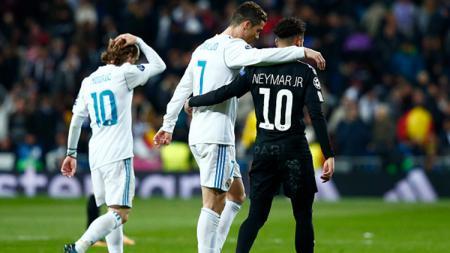 Cristiano Ronaldo - Neymar. - INDOSPORT