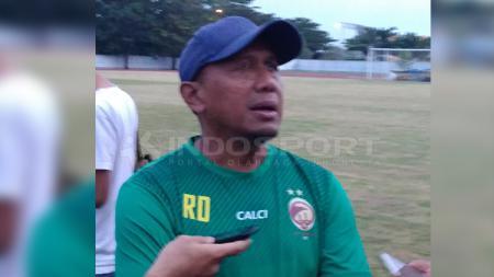 Pelatih Sriwjaya FC, Rahmad Darmawan. - INDOSPORT