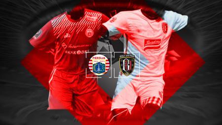 Persija Jakarta vs Bali United. - INDOSPORT