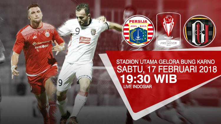 Sejumlah Lokasi Nobar Persija Vs Bali United Indosport