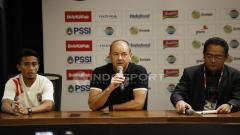 Indosport - Preskon Final Piala Presiden