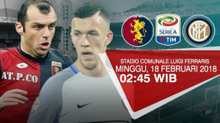 Prediksi Genoa vs Inter Milan. - INDOSPORT