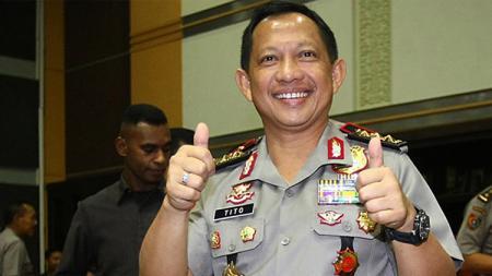 Kapolri Jenderal Tito Karnavian. - INDOSPORT