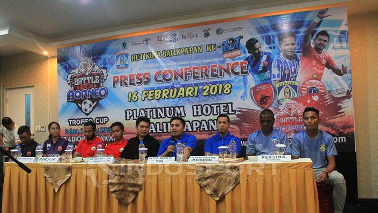 Konferensi Pers Battle of Borneo. Copyright: Reno Firhad/INDOSPORT