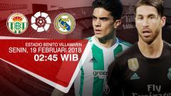 Indosport - Real Betis vs Real Madrid.