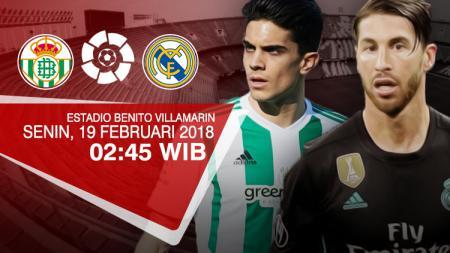Real Betis vs Real Madrid. - INDOSPORT