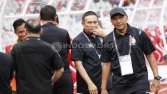 Indosport - Pelatih Sriwijaya FC, Rahmad Darmawan. Harry Ibrahim