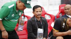 Indosport - Pelatih PSMS Medan, Jajang Nurdjaman. Harry Ibrahim