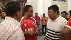 Indosport - Persija disambut Anies Baswedan Balai Kota