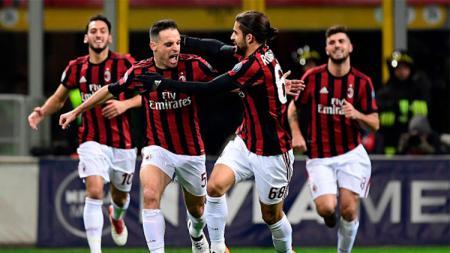 Giancomo Bonaventura sempat absen lama dari AC Milan akibat cedera parah yang dideritanya. Meski begitu dirinya bisa tampil apik sehingga menarik perhatian Marco Giampaolo. - INDOSPORT