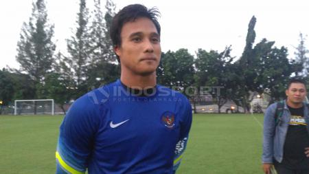 Kiper Borneo FC, Muhammad Ridho. - INDOSPORT