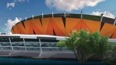 Indosport - Rancangan stadion megah Persija
