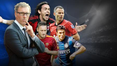 5 Pesepakbola usia tua yang cetak gol di Liga Champions. - INDOSPORT