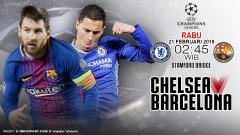 Indosport - Prediksi Chelsea vs Barcelona