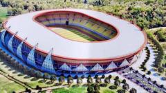 Indosport - Stadion Papua Bangkit