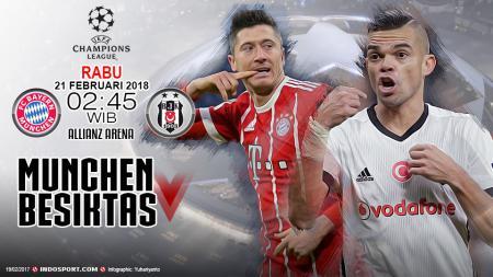 Prediksi Bayern Munchen vs Besiktas - INDOSPORT