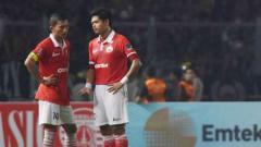 Indosport - Ismed Sofyan dan Bambang Pamungkas.