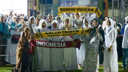 Launchingnya team, Barito Putra gelar sholawat bersama. - INDOSPORT