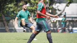 Spasojevic saat latihan bersama Timnas U-23 beberapa waktu lalu.