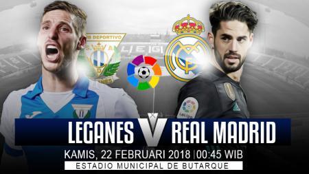 Prediksi Leganes vs Real Madrid. - INDOSPORT