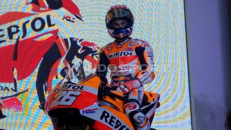 Pembalap Repsol Honda, Dani Pedrosa. - INDOSPORT