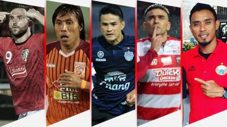 5 Pemain yang bisa angkat trofi juara setelah tinggalkan Persib Bandung. - INDOSPORT