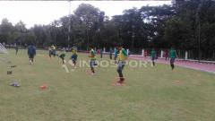 Indosport - Suasana Latihan Timnas U-16.