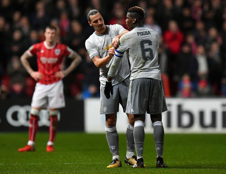 Pogba dan Ibrahimovic Copyright: Getty Images